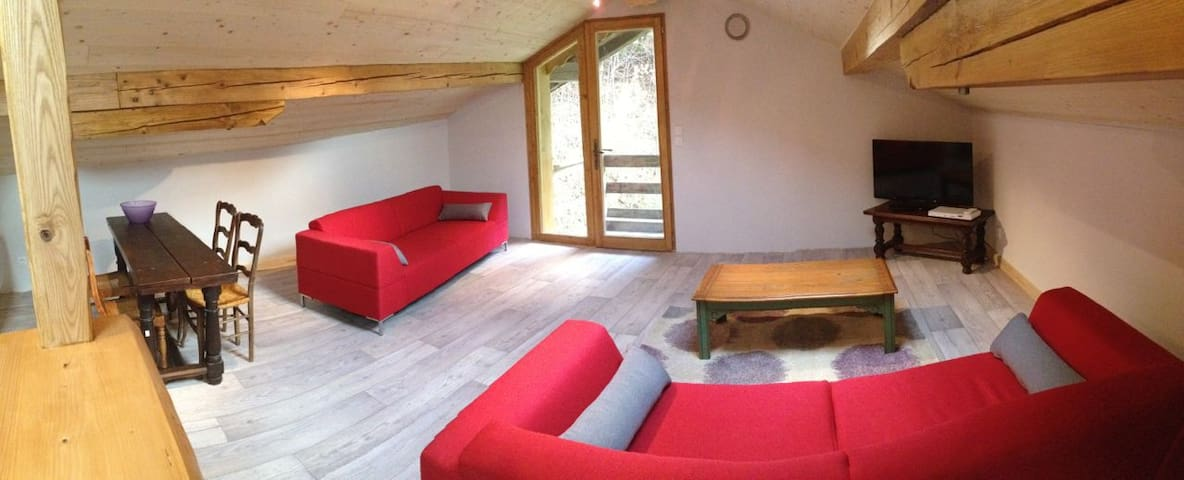 French Alps Apartment for 4 - Villard-sur-Doron - Pis