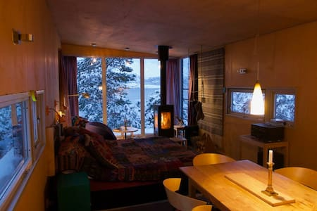 Modern cabin with a view to die for - Skibotn - 小木屋