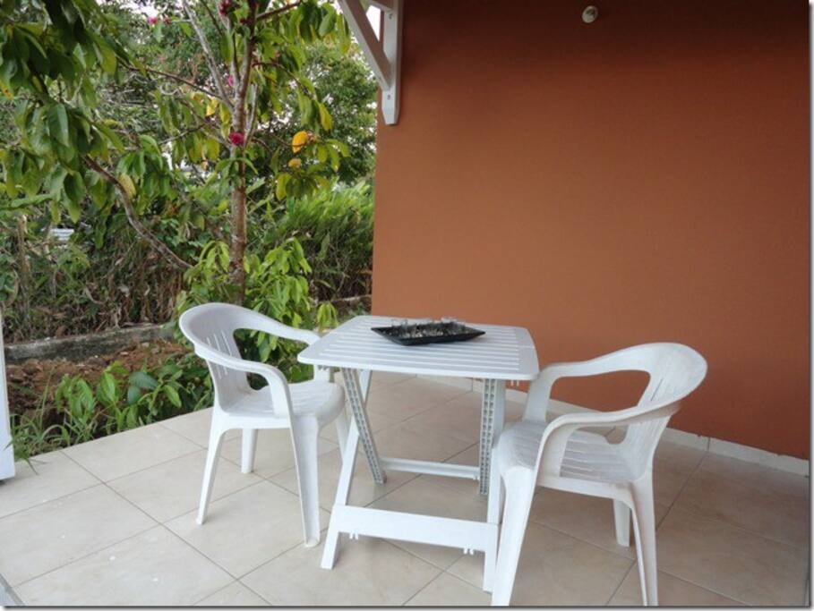 Coin terrasse individuel