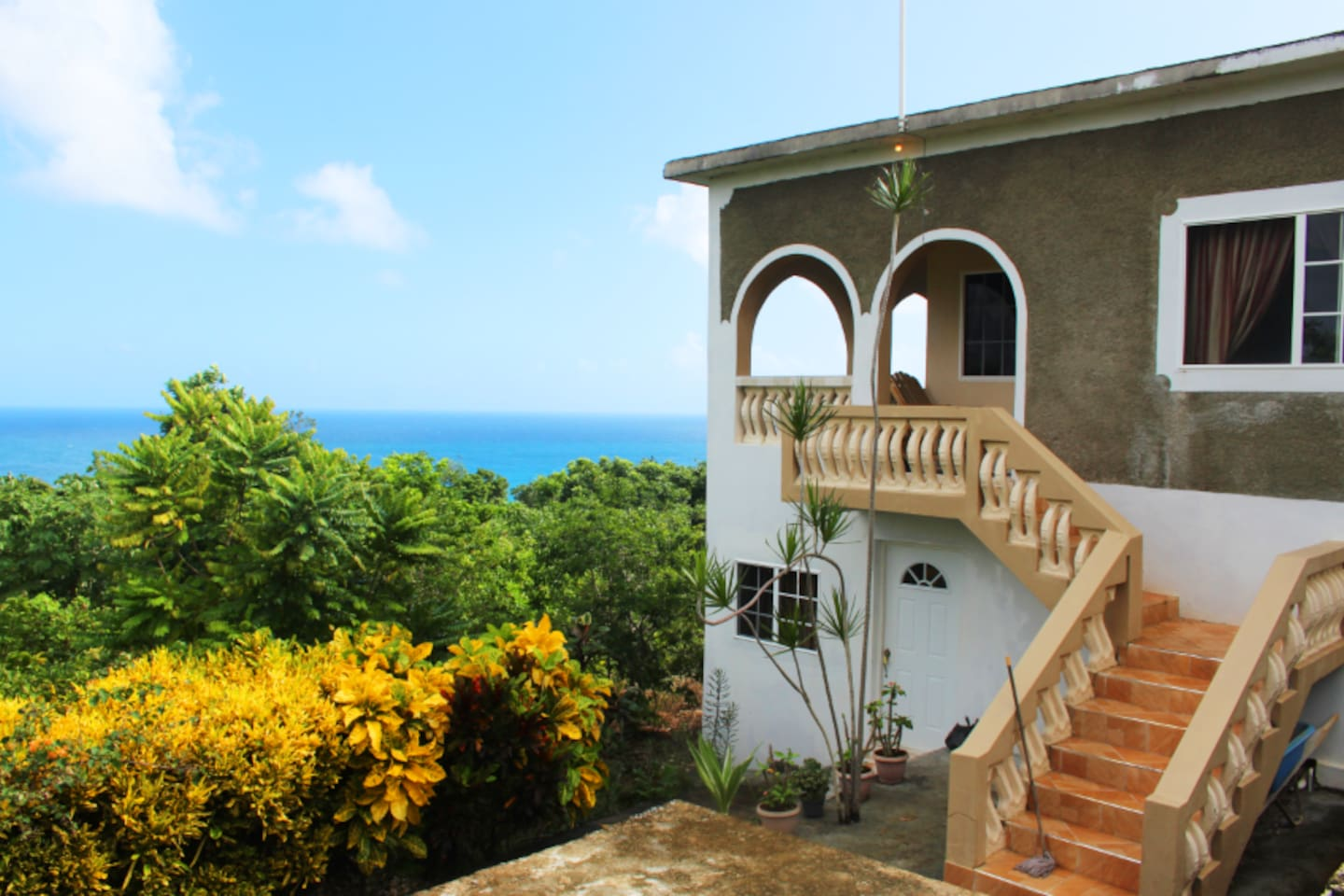 Marline Sunshine has a private entrance and opens right up to the veranda.
