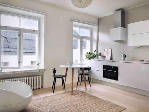 Börje's Top Floor Studio Apt in Design District.