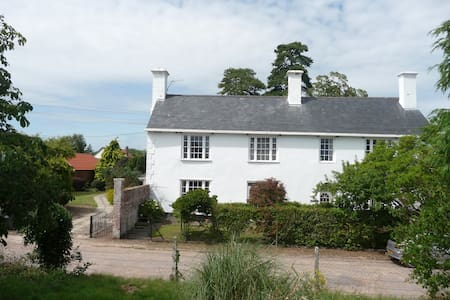 B&B-17th Century close Exeter City + Int Airport - Broadclyst - Szoba reggelivel