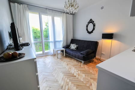 Studio Grey. Grat Studio in Warsaw. - Apartment