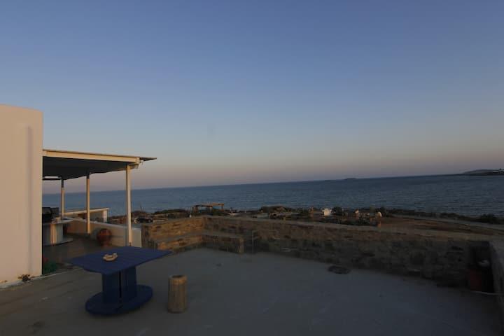 Seaside house in Paros Punda beach!!