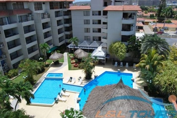 MarbellaMar Resort en Pampatar 6pax AGOSTO - Porlamar - ไทม์แชร์