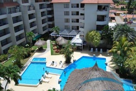 MarbellaMar Resort en Pampatar 6pax AGOSTO - Porlamar - Własność wakacyjna