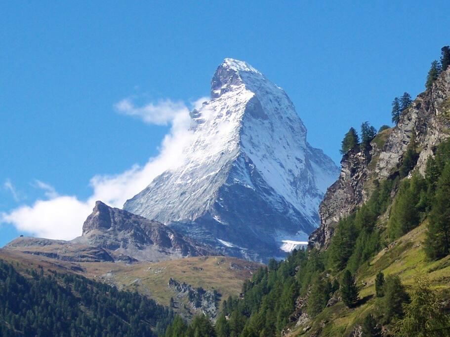 Take a daytrip to Zermatt and see the Matterhorn