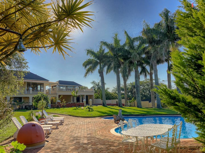 Palm Tree Manor Margate KZN - Room Baobab