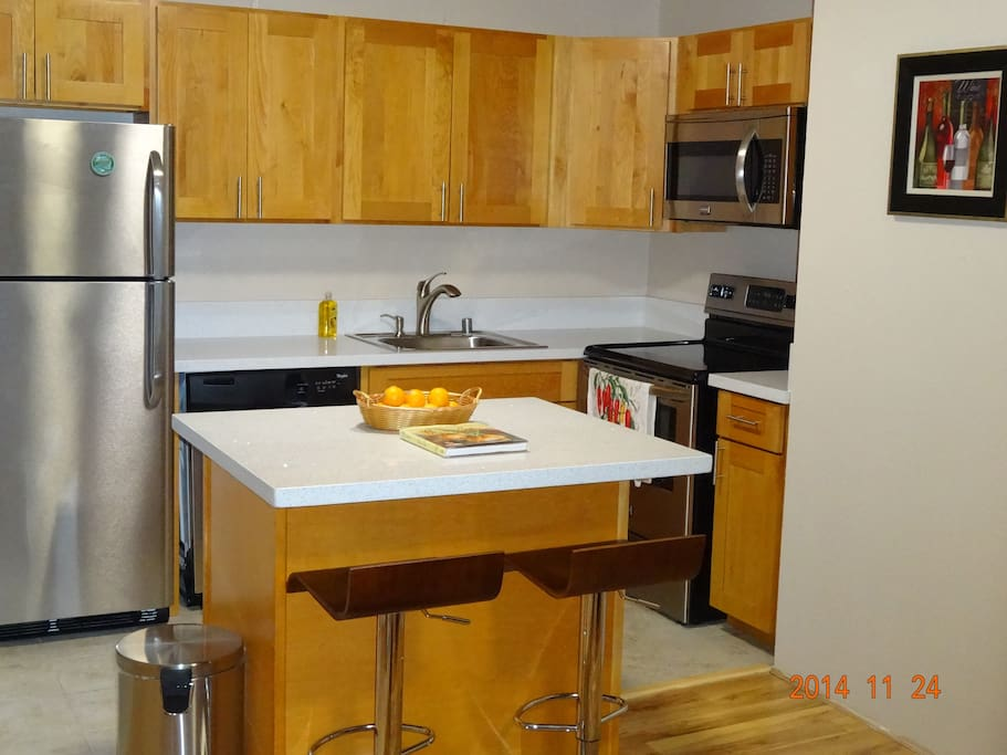 Kitchen - everything new and energy efficient