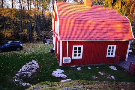 Swedish cottage close to Äsnen National park