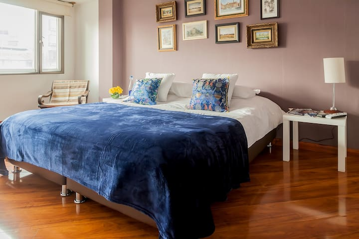 BEST PRIVATE BEDROOM-BATHROOM, BREAKFAST INCLUDED - Bogotá - Appartement