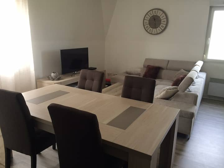 T2 50m2 apartment near the circuit of Le Mans 24h