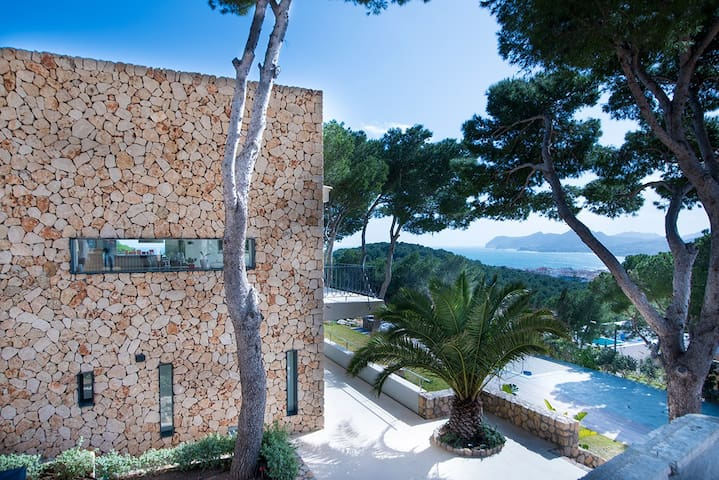 Vista Bella - Designervilla - Cala Lliteres - Huis