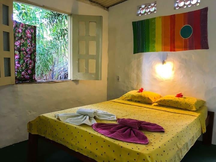 Suíte de Trás, Hostel Moreré, 4 pessoas.
