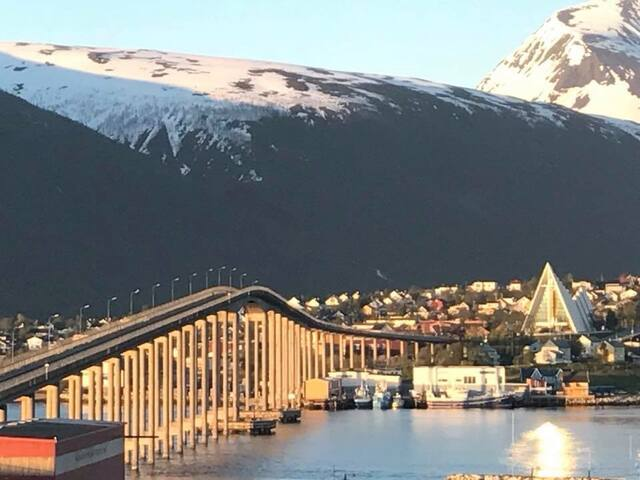 Studio appartment - Tromsø City Centre