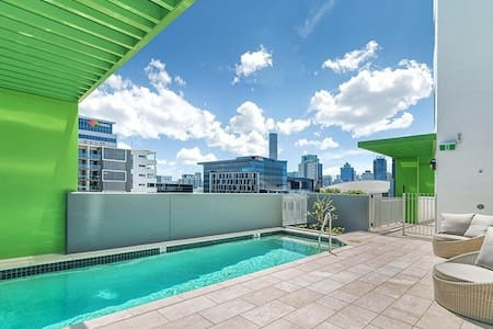 Pool, Private Room & Ensuite South Brisbane - 사우스 브리즈번(South Brisbane) - 아파트