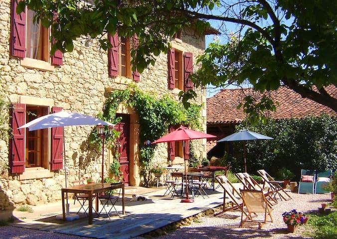 Auberge des Coteaux de Gascogne - Saint-Lary-Boujean - Bed & Breakfast