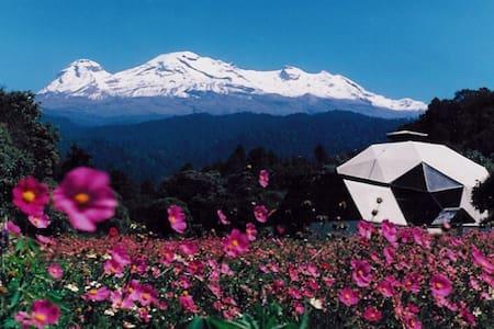 Retiro en mitica montaña y bosque - Amecameca - 自然小屋