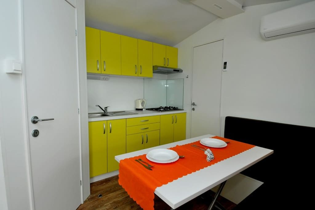 Mobile home 24m2 kitchen