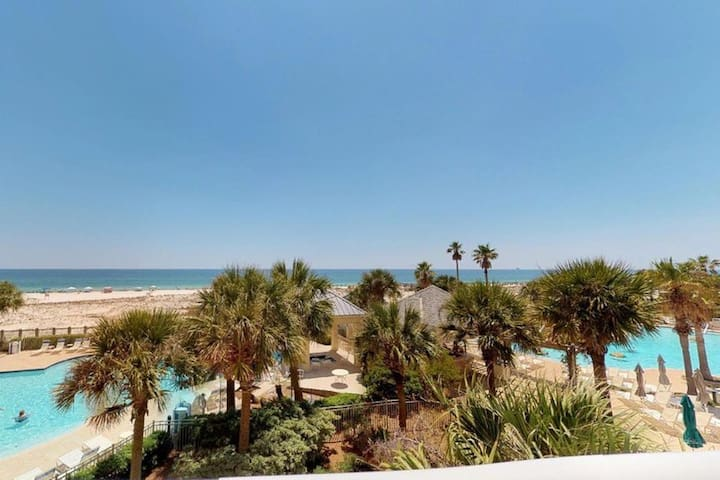 Beach Club Bristol 309  Gulf Front..Awesome View