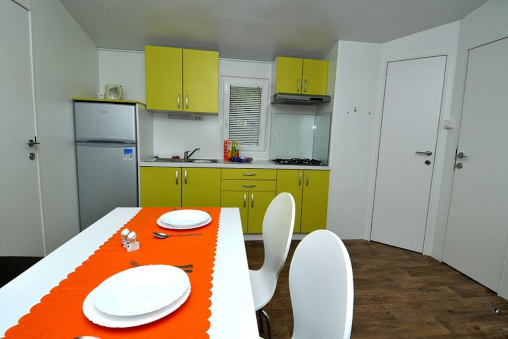 Mobile home 32m2 kitchen