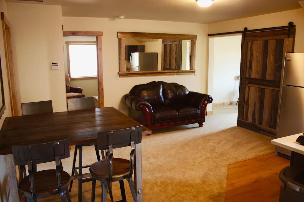 Living Room/Kitchenette/Dining Room Table