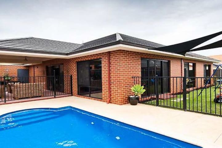 Your Perth Holiday House with a swimming pool