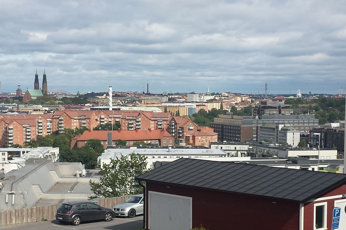 View - the city