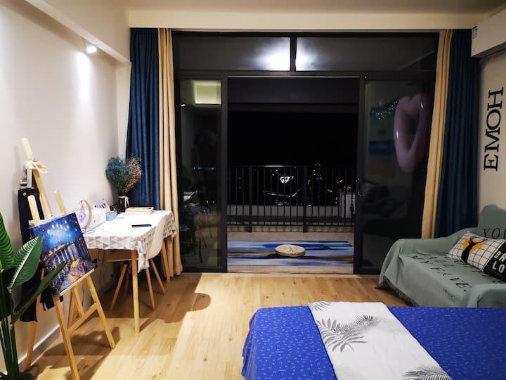 【海的故事】海景文艺投影公寓