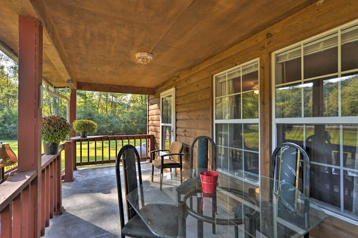 NEW! Quiet Cherokee Home w/ Deck, Walk to Lake!