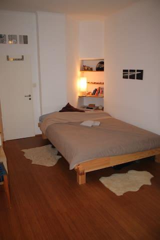Central & gemütliche Privatzimmer für 2  - Frankfurt - Apartament