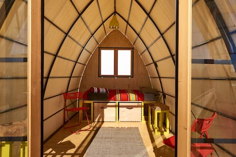 Pope Hut at Blue Sky Center