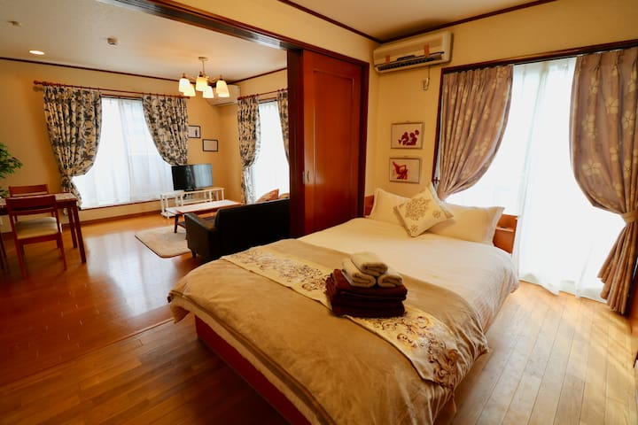 SC201★7 ppl★Free WiFi★2min to Shibuya★2Bedroom