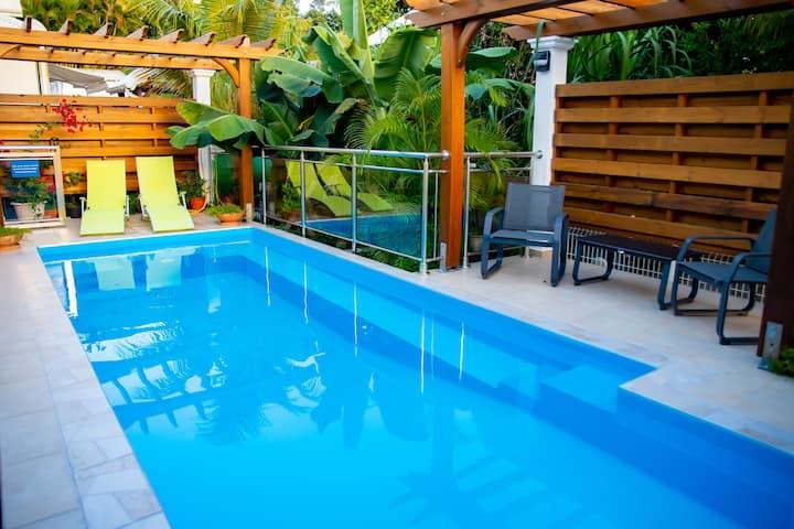 Villa Amarilla 2 chambres avec piscine et jacuzzi