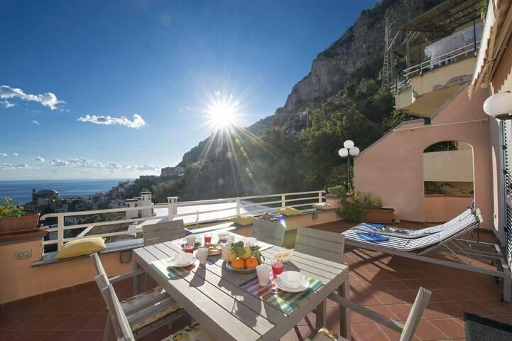 Positano Luxury Villa With Sauna and Pool