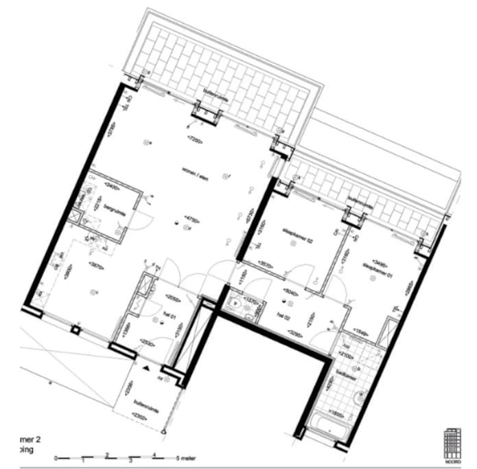 Layout of the appartment