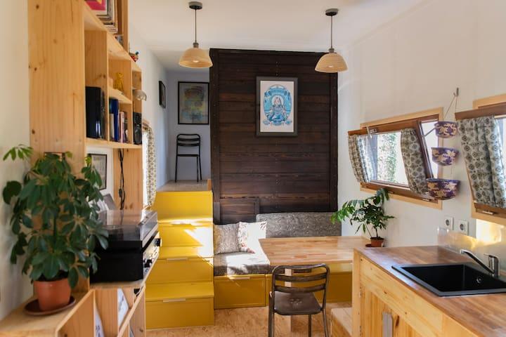 """Nouveau ! Tiny house """" La Gibbeuse"""""""