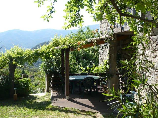 les chalets et gite du haut taravo (rez de jardin)