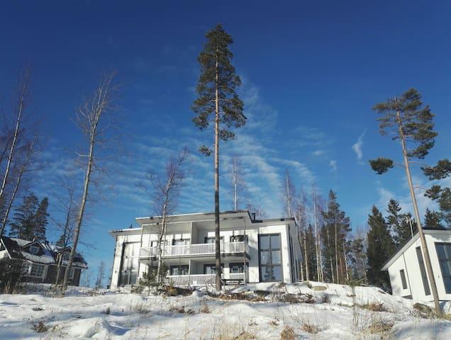 Paritalohuoneisto lähellä Jyväskylää Riihivuoressa