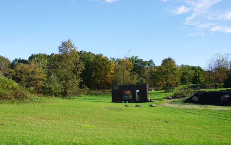 Tiny House nestled on a 30 acre farm