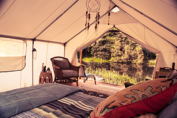 COZY GLAMPING - unplug, recharge, private getaway - Banks - Tenda de campanya