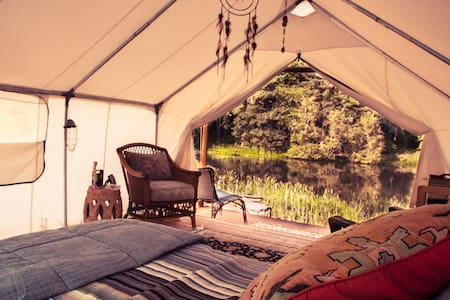 COZY GLAMPING - unplug, recharge, private getaway - Banks