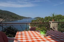 TErrase and sea view