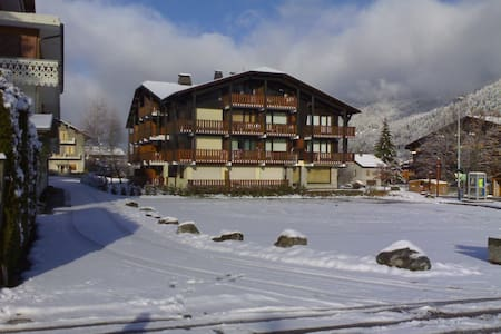 newly furnished, central ski in/out - Morzine - Leilighet