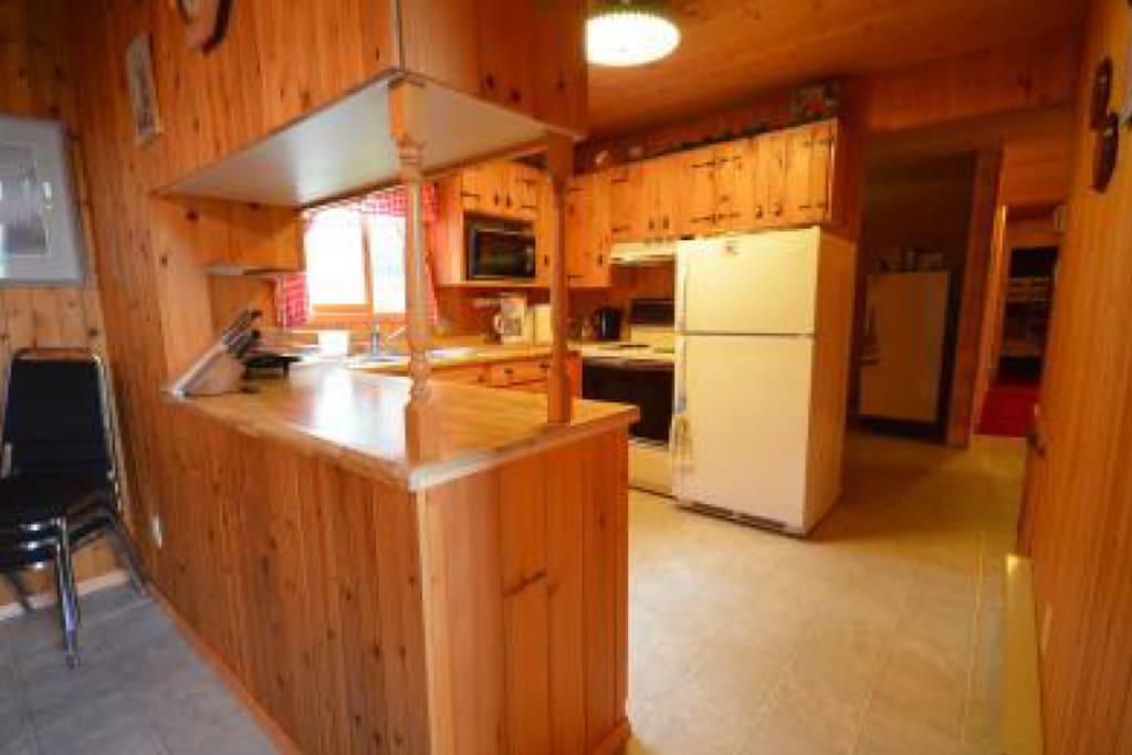Beautiful wood kitchen