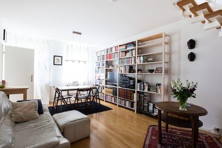 City centre, Riverfront Duplex - Berlin - Apartment