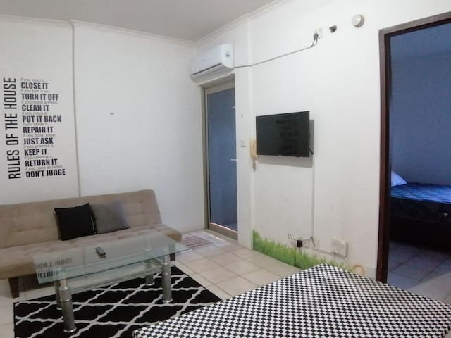[ kamarbersih ] 1 bed room at mediterania 1
