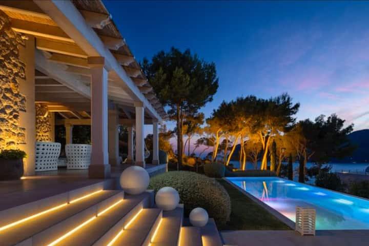 Meerblick Villa Camp de Mar, Laufweite zum Strand