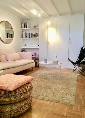 Uccle-Cavell appartement cosy en arrière-cour
