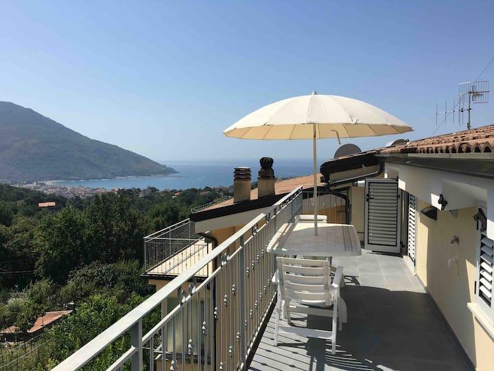 San Martino - Appartamento con vista sul golfo